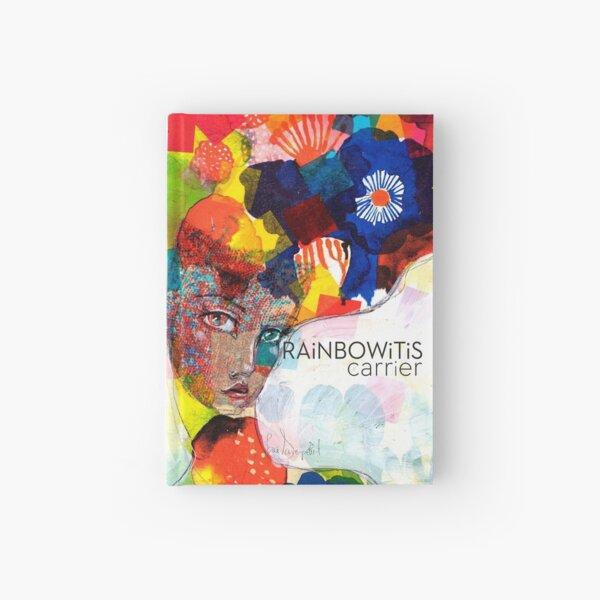 Rainbowitis Carrier - exclusive by Jane Davenport Hardcover Journal