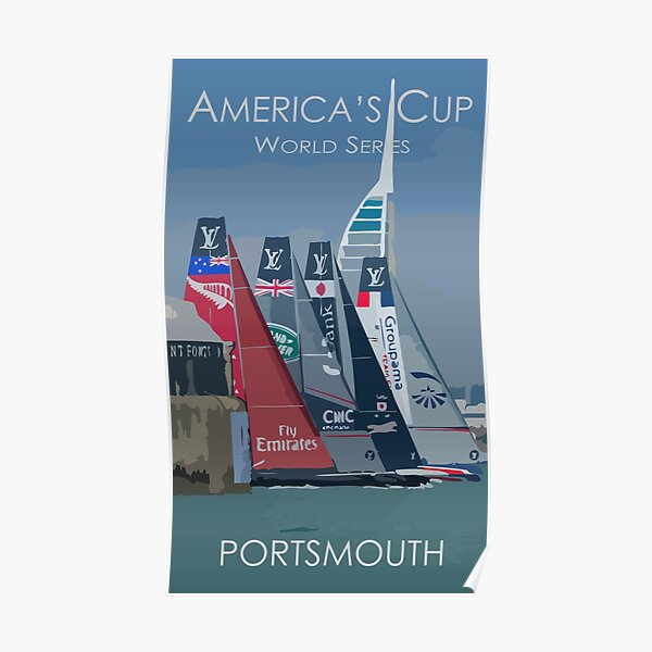 America's Cup World Series - Portsmouth Poster