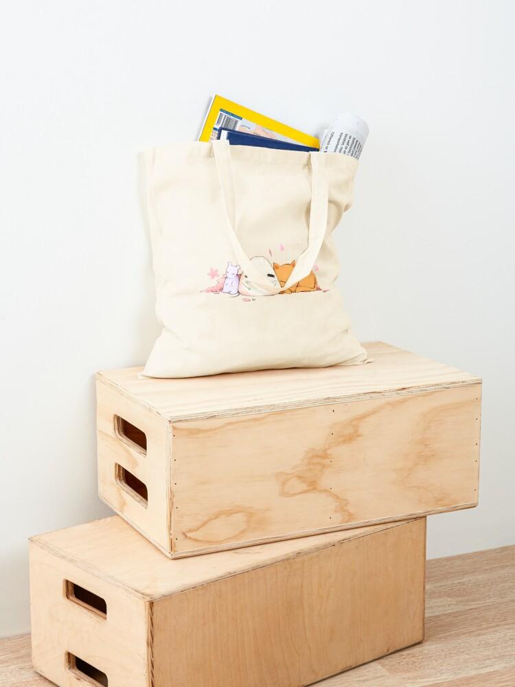 Alternate view of Fruits basket   Tohru, Yuki, Kyo Tote Bag