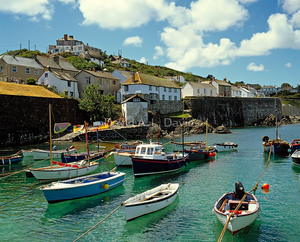 Quot The Cornish Fishing Village Of Coverack Cornwall