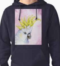 George~ the Sulfur-Crested Cockatoo Pullover Hoodie