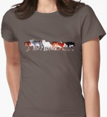The Wolves of Winterfell Womens Fitted T-Shirt