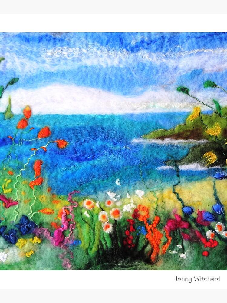 Seaside meadow by SeaDriftStudio