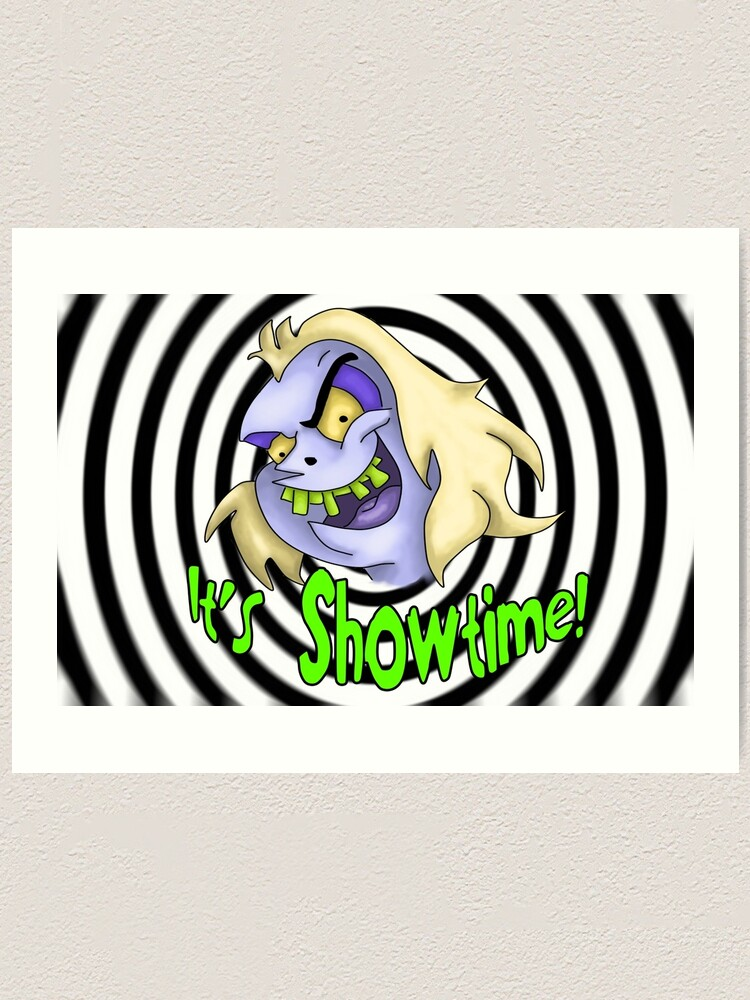 Beetlejuice Cartoon Art Print By Corpseart13 Redbubble