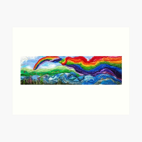 Rainbow River Art Print