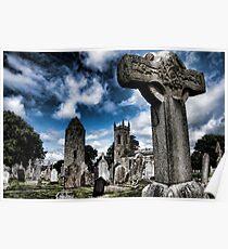 Dromiskin Monastery, County Louth, Ireland Poster