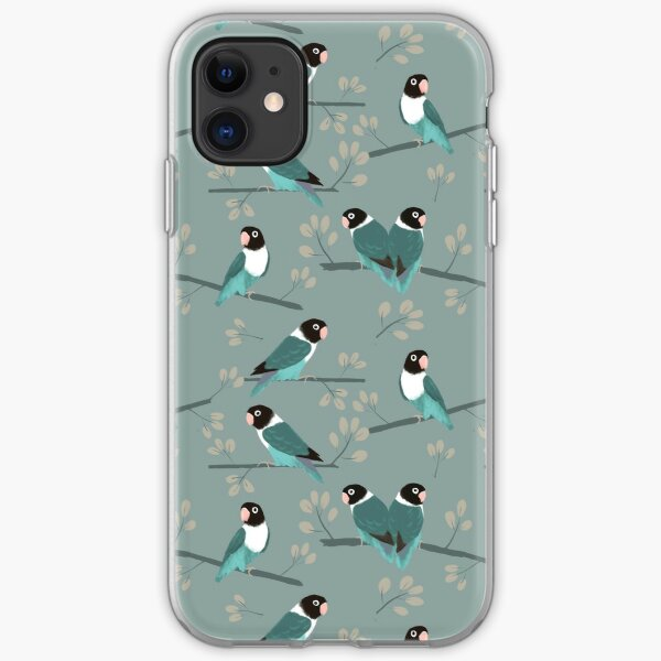 Lovebirds iPhone Soft Case