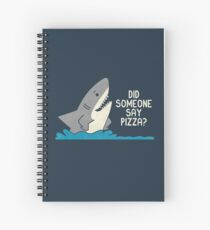 Hungry Shark Spiral Notebook