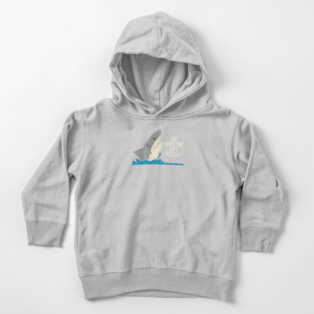 Hungry Shark Toddler Pullover Hoodie