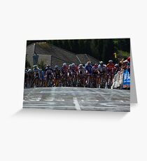 The Peleton Greeting Card