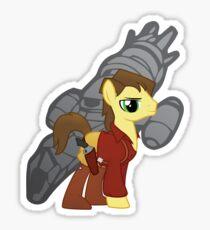 Malcolm Reinholds - Pony Sticker