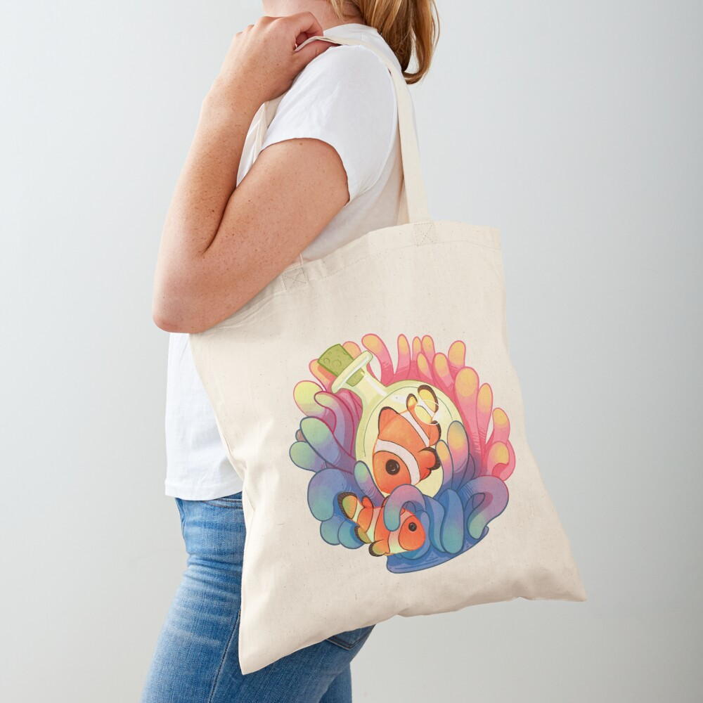 C is for Clownfish Tote Bag