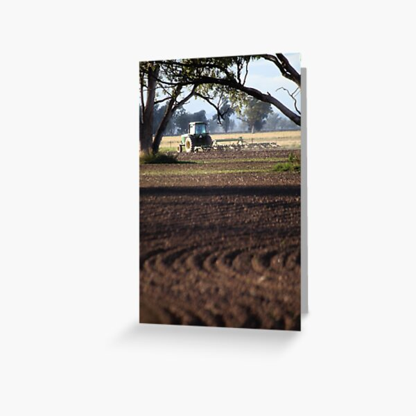 Wide Lining Greeting Card