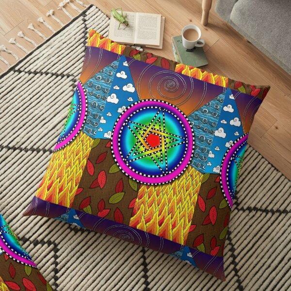 Pentagram Floor Pillow