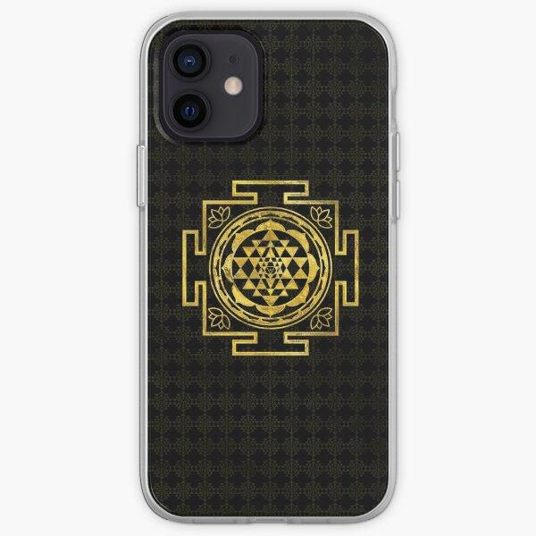 Golden Sri Yantra  / Sri Chakra iPhone Soft Case