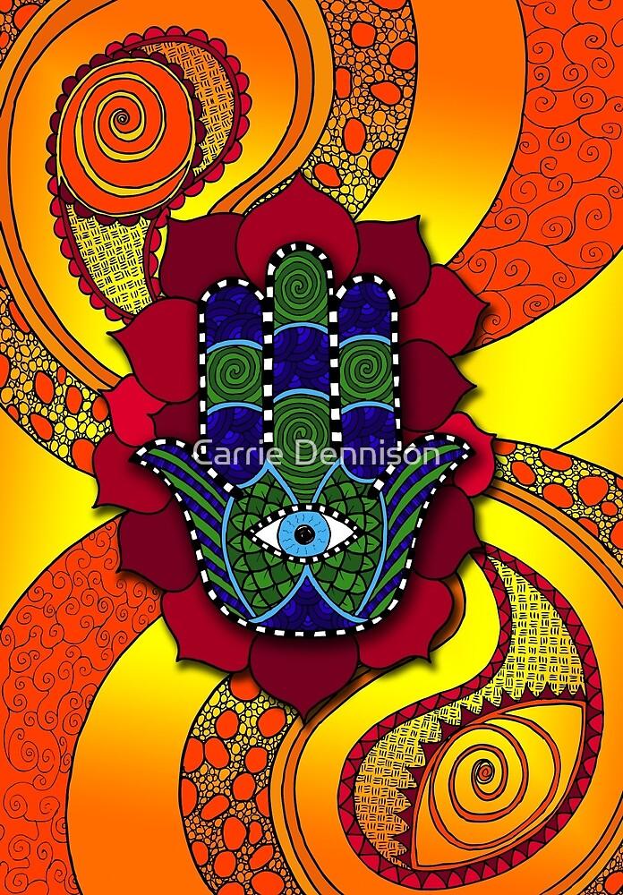 Hamsa by Carrie Dennison