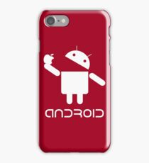 Android Eat Apple iPhone Case/Skin