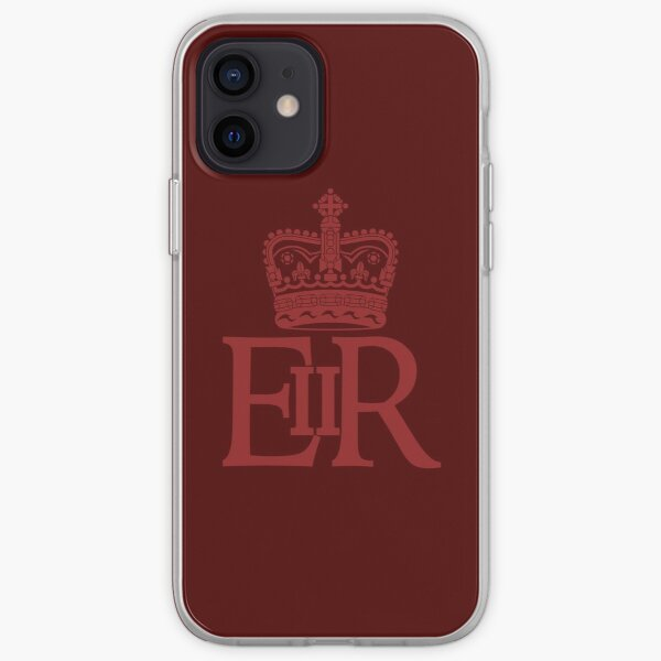 The Royal Cypher of Queen Elizabeth II iPhone Soft Case
