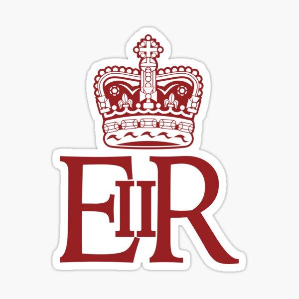 L'empreinte royale de la reine Elizabeth II Sticker