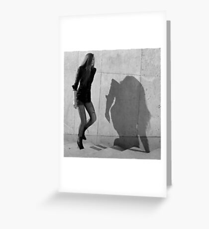 Paris - Fashion victim. Greeting Card