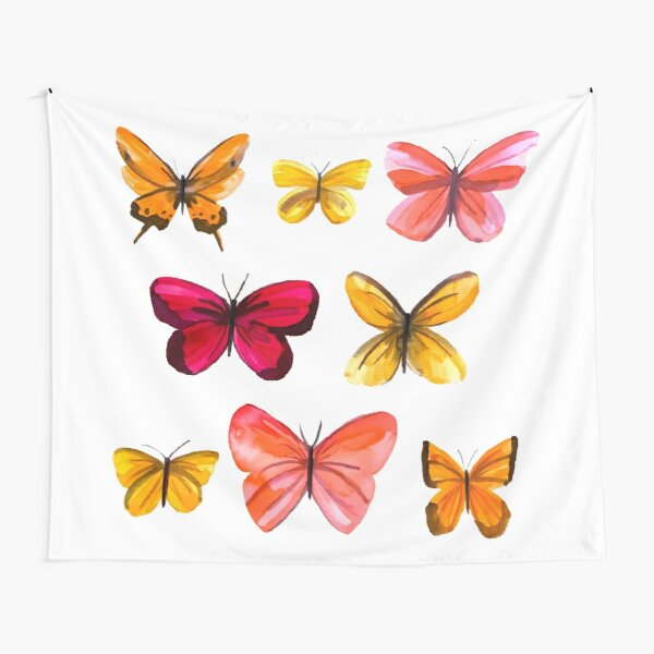 Butterflies no 3 Tapestry