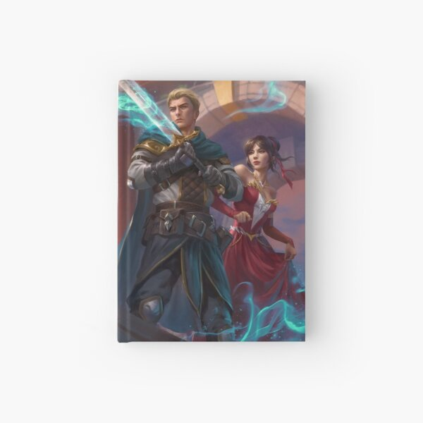 Bridge of Legends Art - Dawnspell Hardcover Journal