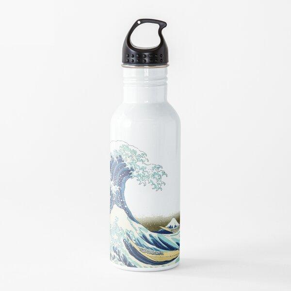 HOKUSAI. The Great Wave off Kanagawa, BRIGHTENED. Water Bottle