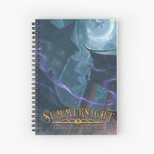 Summernight: Bridge of Legends Book One Spiral Notebook