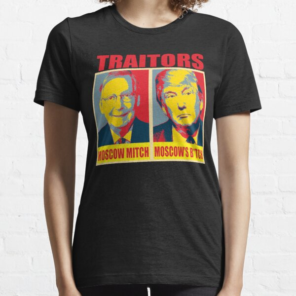 Ditch Moscow Mitch Mitch McConnell and Donald Trump Traitor Essential T-Shirt