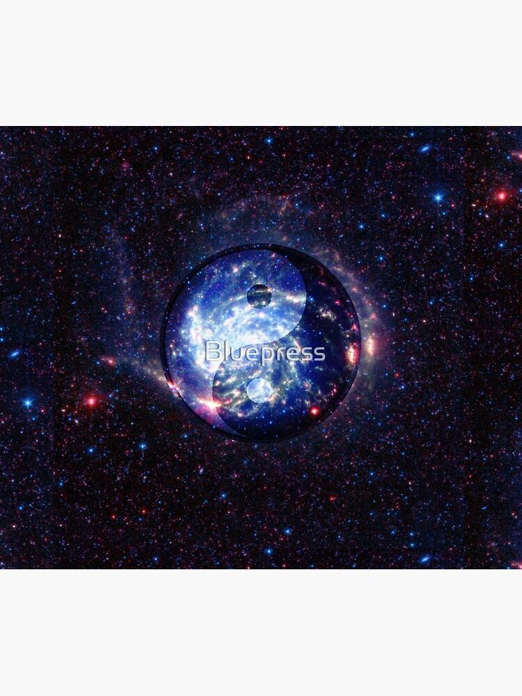 The Yin Yang Energy Swirl by Bluepress