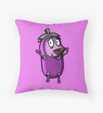 Courage the Cowardly Dog™ in the Great Eggplant Costume Floor Pillow