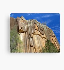 Sawn Rocks - Mt Kaputar National Park, NSW Canvas Print