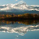 Reflections of Longs Peak, Colorado by Gregory J Summers