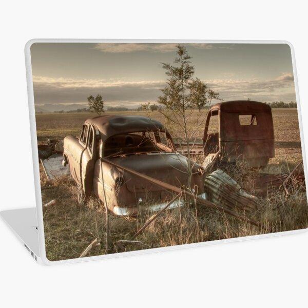 1954 Ford Customline & 1950's Austin Truck Laptop Skin