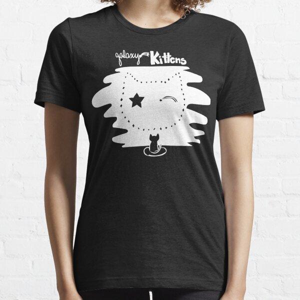 Galaxy Kittens - White Essential T-Shirt