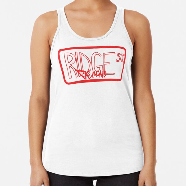 Ridge St Demons - Red Racerback Tank Top