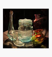 Glassware Mix Photographic Print