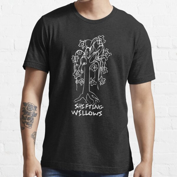 Shifting Willows - White Essential T-Shirt