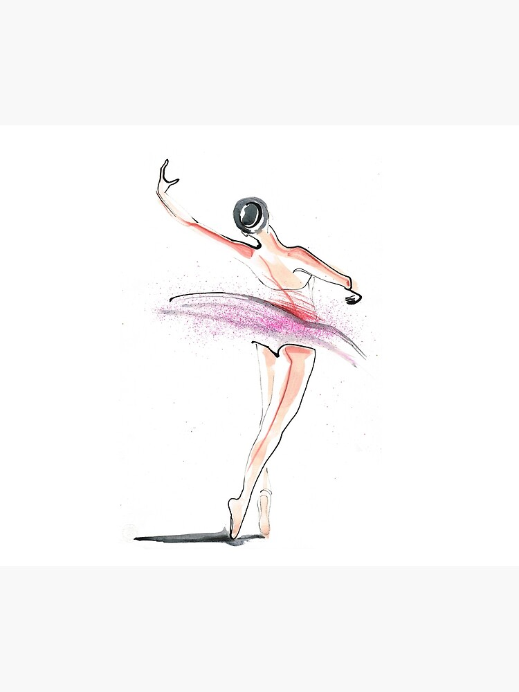 Ballerina Dance Drawing by CatarinaGarcia
