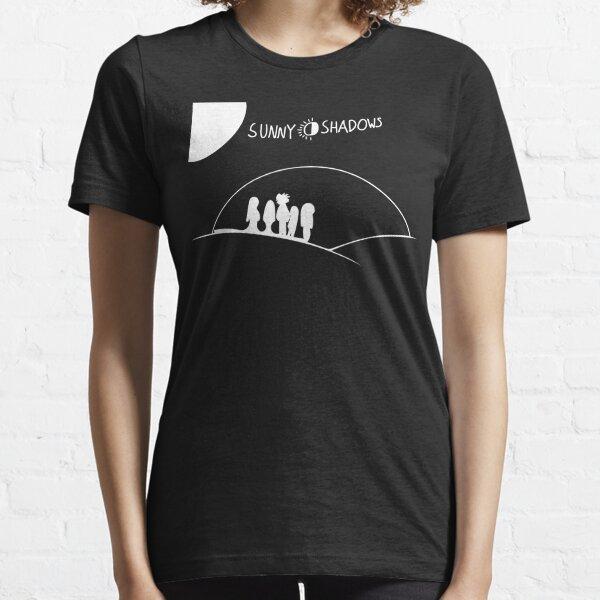 Sunny Shadows - White Essential T-Shirt