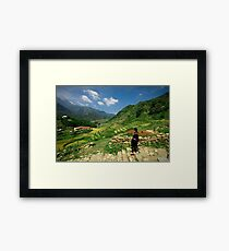 Sapa Countryside Framed Print