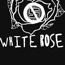 White Rose - White by GirlsRockPitt