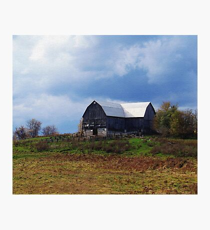 A Barn In Trent Hills Photographic Print