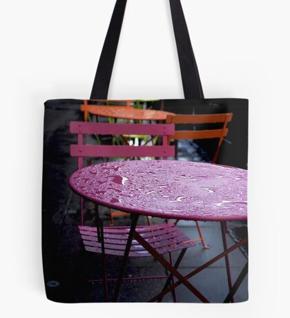 Wet Sunday Tote Bag