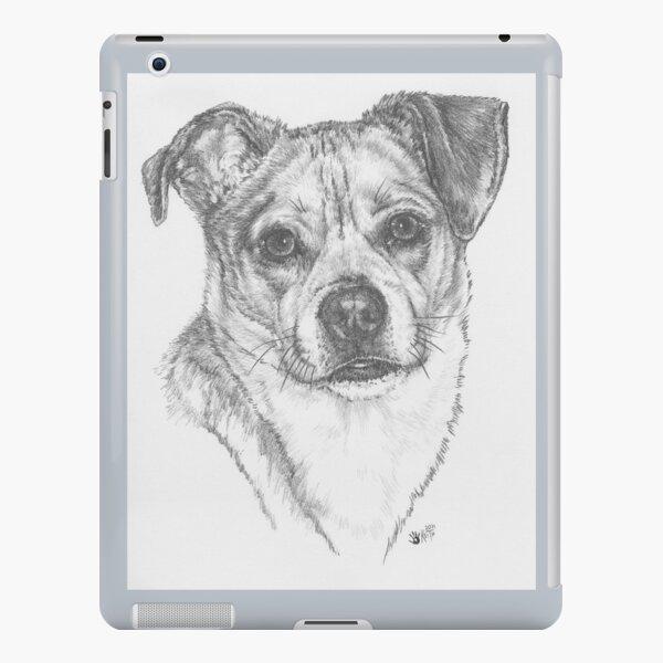 Chug Portrait in Graphite iPad Snap Case