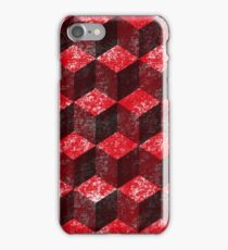 splattered red iPhone Case/Skin