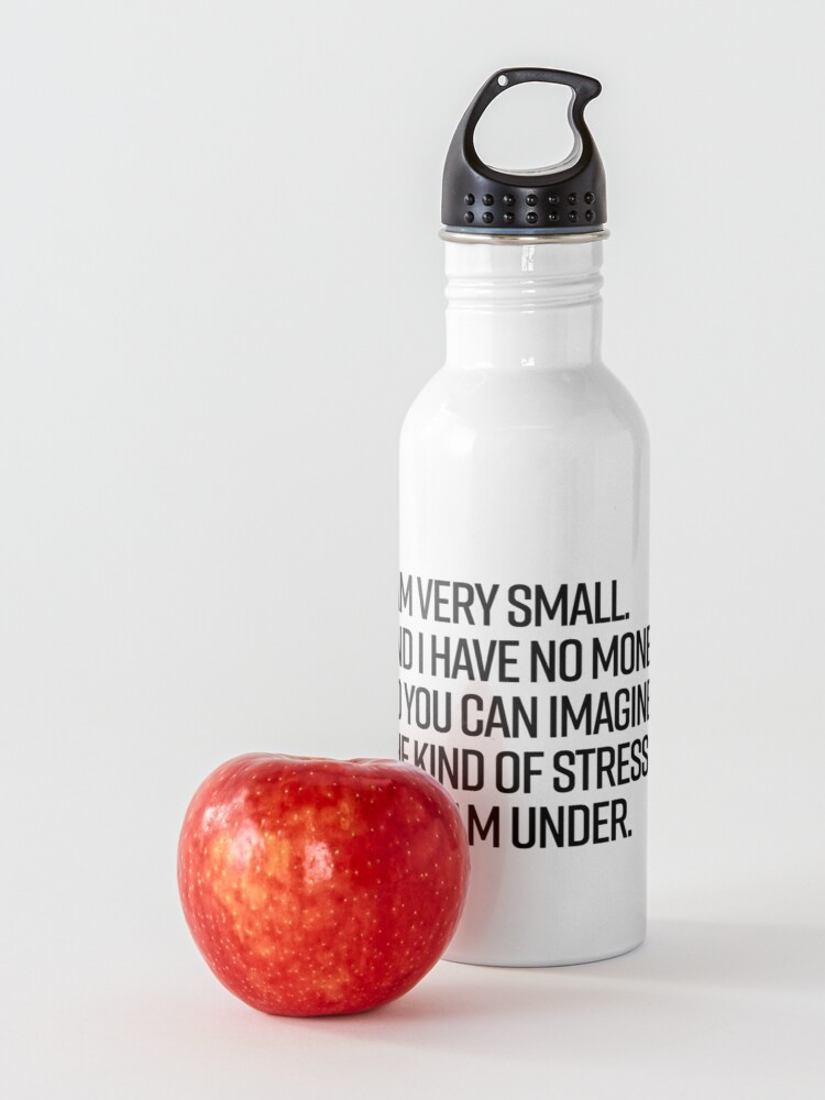 Alternate view of I am small Water Bottle