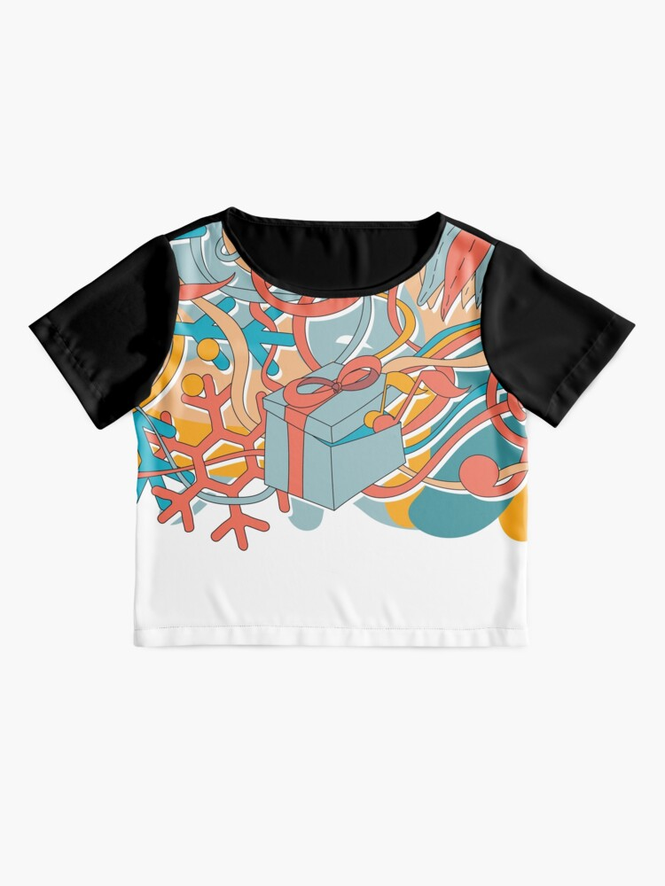 Alternate view of Night is Alive Holiday 2019 Chiffon Top