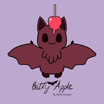 Sweet Treat Friends - Batty Apple the Bat by OhSweetie