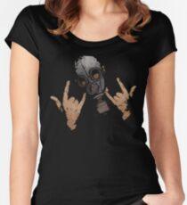 Devil Horns (Colour Version) Women's Fitted Scoop T-Shirt
